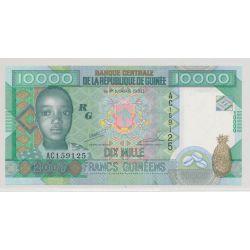 Guinée - 10000 Francs - 2007 - NEUF
