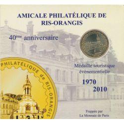 Dept91 - Encart 40ans amicale philatélique - 2011 - Ris orangis