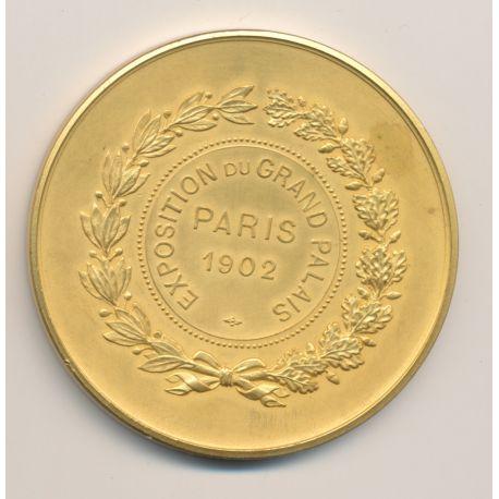 Médaille - Exposition du Grand Palais - Paris 1902 - cuivre