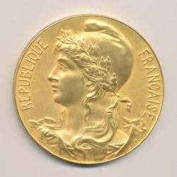 Médaille - Exposition internationale du travail - Paris 1901 - cuivre