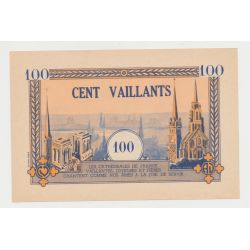 Billet 100 Vaillants - Mouvement de jeunesse - 1930/1940 - Petit Format 13,5x9cm