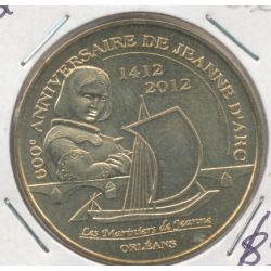 Dept45 - 600e anniversaire jeanne d'arc - 2012 - Orléans