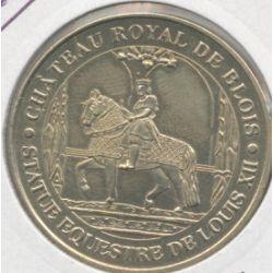 Dept41 - Chateau royal de Blois - statue équestre Louis XII - 2005H