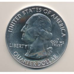 Etats-Unis - 1/4 Quarter Dollar Maine - 2012 - 5 Once argent