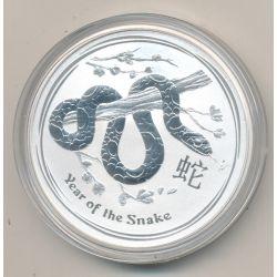 Australie - 1 Dollar 2013 - Année du serpent