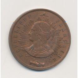 10 Centimes - 1848 Essai - Pillard