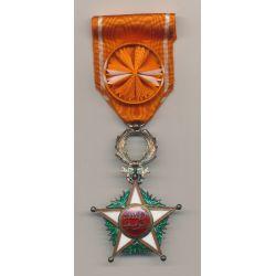 Maroc - Ordre ouissam alaouite - Officier