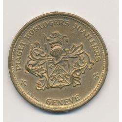 Monnaie publicitaire - copie 20 Dollars 1874 - Piaget horlogers joailliers Geneve