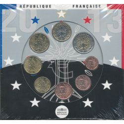Coffret Brillant Universel France 2013 - Euro
