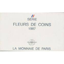 Coffret FDC 1987