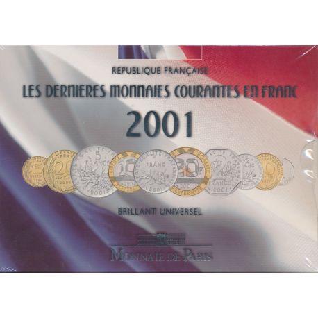 Coffret BU 2001