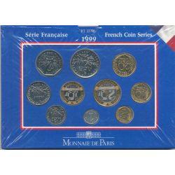 Coffret BU France 1999 - en Francs