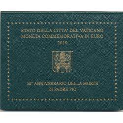 Vatican - 2 Euro - 2018 - Padre Pio