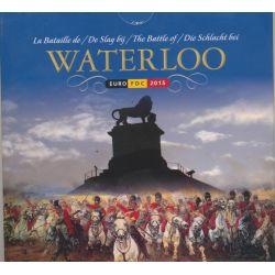 Coffret BU Belgique - 2015 - Waterloo