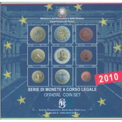 Coffret BU Italie - 2010
