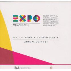 Coffret BU Italie - 2015 - Milan Expo
