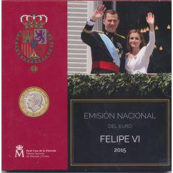 Coffret BU Espagne - 2015 - Felipe VI