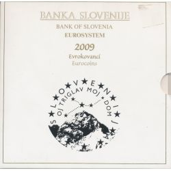 Coffret BU Slovénie - 2009