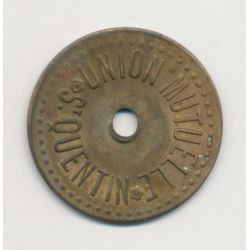 St Quentin - Union mutuelle - 2 Kilos - laiton
