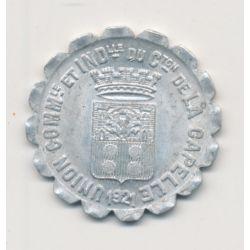 La capelle - 10 centimes - 1921 - alu