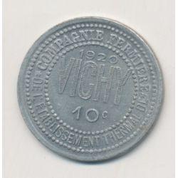 Vichy - 10 centimes - 1920 - alu