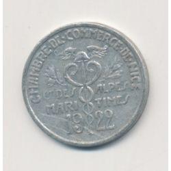 Nice - 5 centimes - 1922 - alu