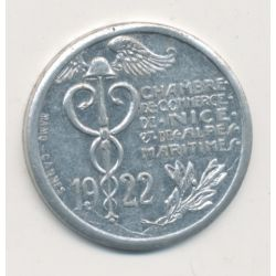 Nice - 10 centimes - 1922 - alu