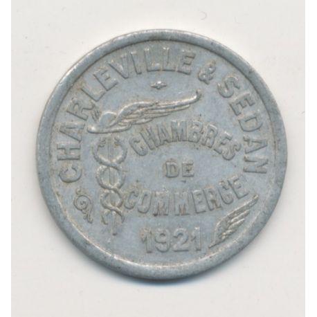 Charleville et sedan 10 centimes 1921 alu monnaies - Chambre de commerce charleville ...
