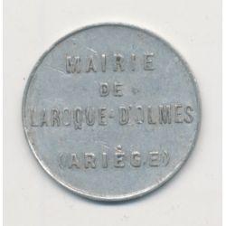 Laroque d'olmes - 10 centimes - alu