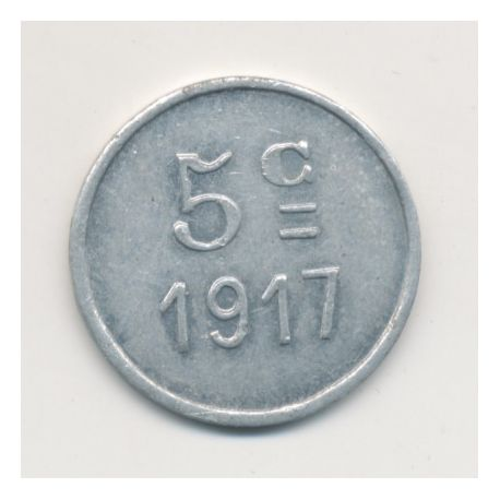 Montreal - 5 centimes - 1917 - alu