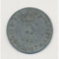 Castelnaudary - 5 centimes - 1917 - zinc