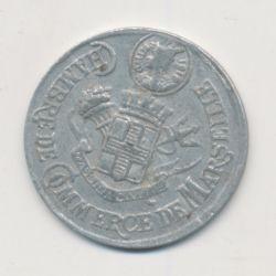 Marseille - 5 centimes 1916 - chambre de commerce - alu