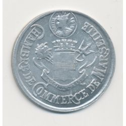 Marseille - 10 centimes 1916 - chambre de commerce - alu