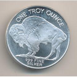 Etats-Unis - 1 once argent - Buffalo