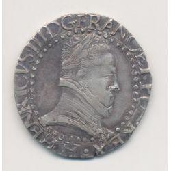 Henri III - 1/2 Franc - 1587 H La Rochelle