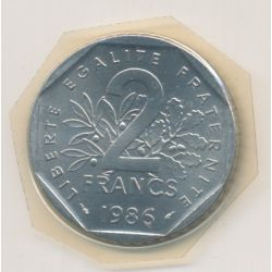 2 Francs Semeuse - 1986