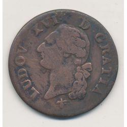 Louis XVI - Sol - 1785 H La rochelle
