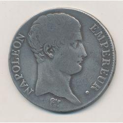 5 Francs Napoléon empereur - 1806 Q Perpignan