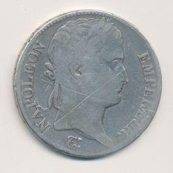 5 Francs Napoléon empereur - 1815 A Paris