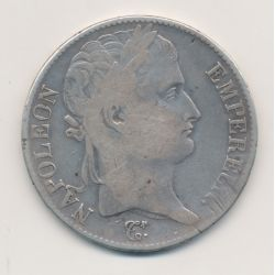 5 Francs Napoléon empereur - 1815 I Limoges