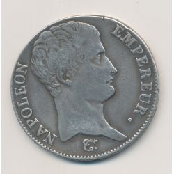 5 Francs Napoléon empereur - AN 14 L Bayonne