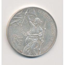 100 Francs La liberté guidant le peuple - 1993 - argent