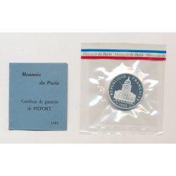 Piéfort - 100 Francs Panthéon - 1982 - belle épreuve