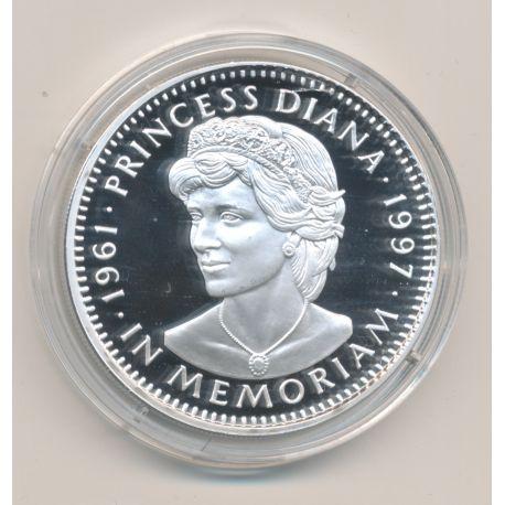 Libéria - 20 Dollars 1997 - Princesse Diana - argent