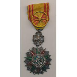 Tunisie - Nicham Iftikar - Officier - Habib Bey - 1922-1928 - argent