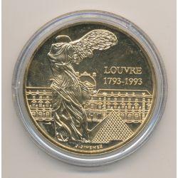 Médaille - Louvre - bronze