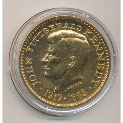 Médaille - John Fitzgerald Kennedy - bronze
