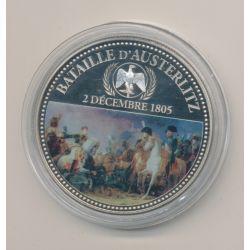 Médaille - Bataille d'Austerlitz - 2 décembre 1805 - en couleur