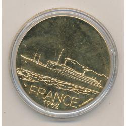Médaille - France 1962 - Paquebots Transatlantiques