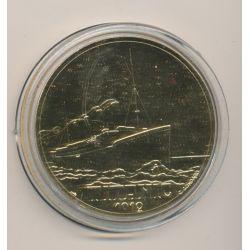 Médaille - Titanic 1912 - Paquebots Transatlantiques
